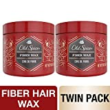 Old Spice, Fiber Hair Wax for Men, Hair Treatment, Swagger, 2.64 oz, Twin Pack