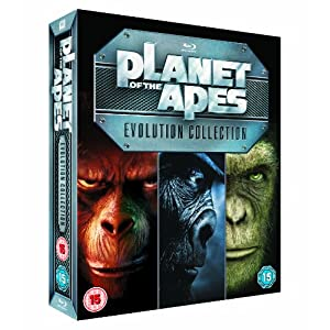 51uUOTmKLwL. SL500 AA300  [Amazon UK] Planet of the Apes: Evolution Collection [Blu ray] für nur 33,46€ inkl. Lieferung