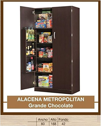 HOME DESIGN Alacena Metropolitan Grande Chocolate