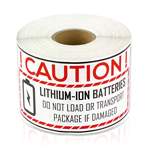 Lithium Ion Battery Caution Handling 2