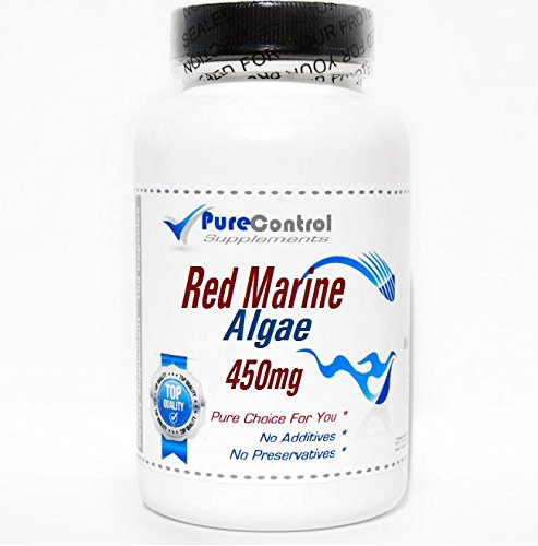 Red Marine Algae 450mg 200 Capsules Pure by PureControl Supplements