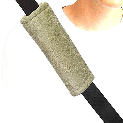 Majic Beige Memory Foam Seat Belt Pad Universal Fit