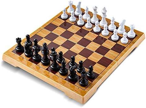 Kaikai Ajedrez Damas y Backgammon portátil magnético de ajedrez de plástico Conjunto pequeño / Grande del Tablero de ajedrez for los Amigos ChildrensKid Entretenimiento Regalo Juegos de Mesa: Amazon.es: Juguetes y juegos
