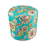 Stratford Home Indoor / Outdoor Ottoman Pouf, Daelyn Opal