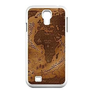 Samsung Galaxy S4 9500 Cell Phone Case White pamdlrow center map art G7X2ID