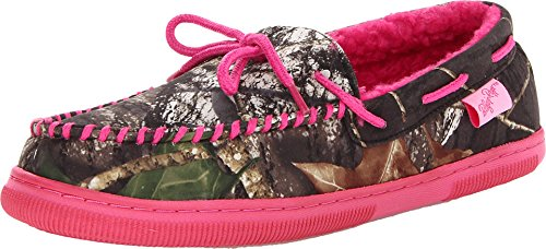 Camouflage Women's Moccasin Slippers made our list of camping gifts couples will love and are the best gifts for couples who camp in tents or RVs including awesome gifts for people who love camping with their friends and families!