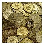 144 Plastic Gold Coins