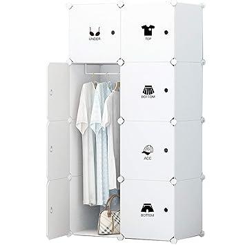 Juchi Tragbar Closet Kleiderschrank Organizer Kleidung