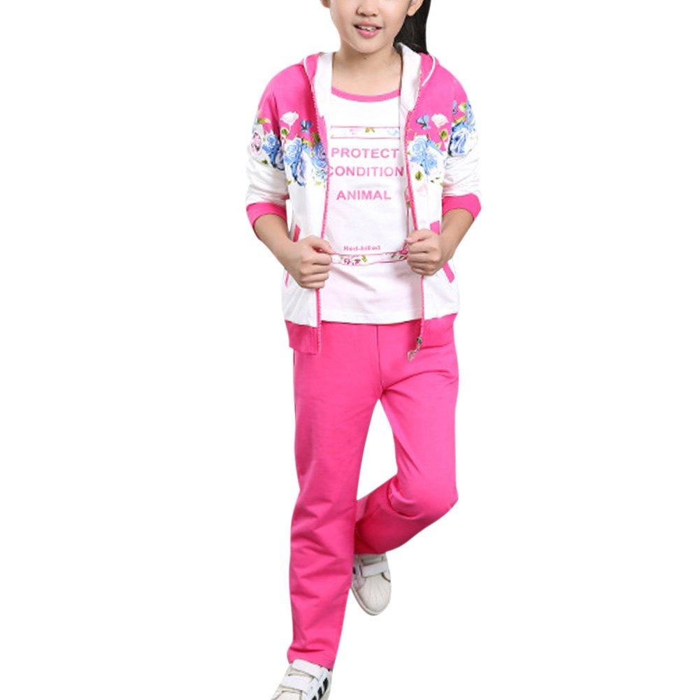 MAOMAO - Chándal - para niña Rose 120 cm/4-5 Años: Amazon.es: Ropa ...