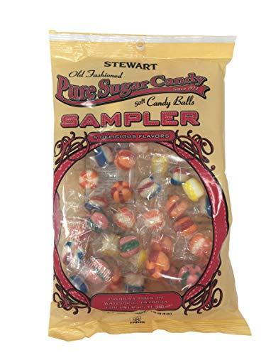 Stewart Candy Company Soft Assorted Candy Balls, 10 oz. Bag