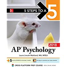 5 Steps to a 5 AP Psychology 2018 edition