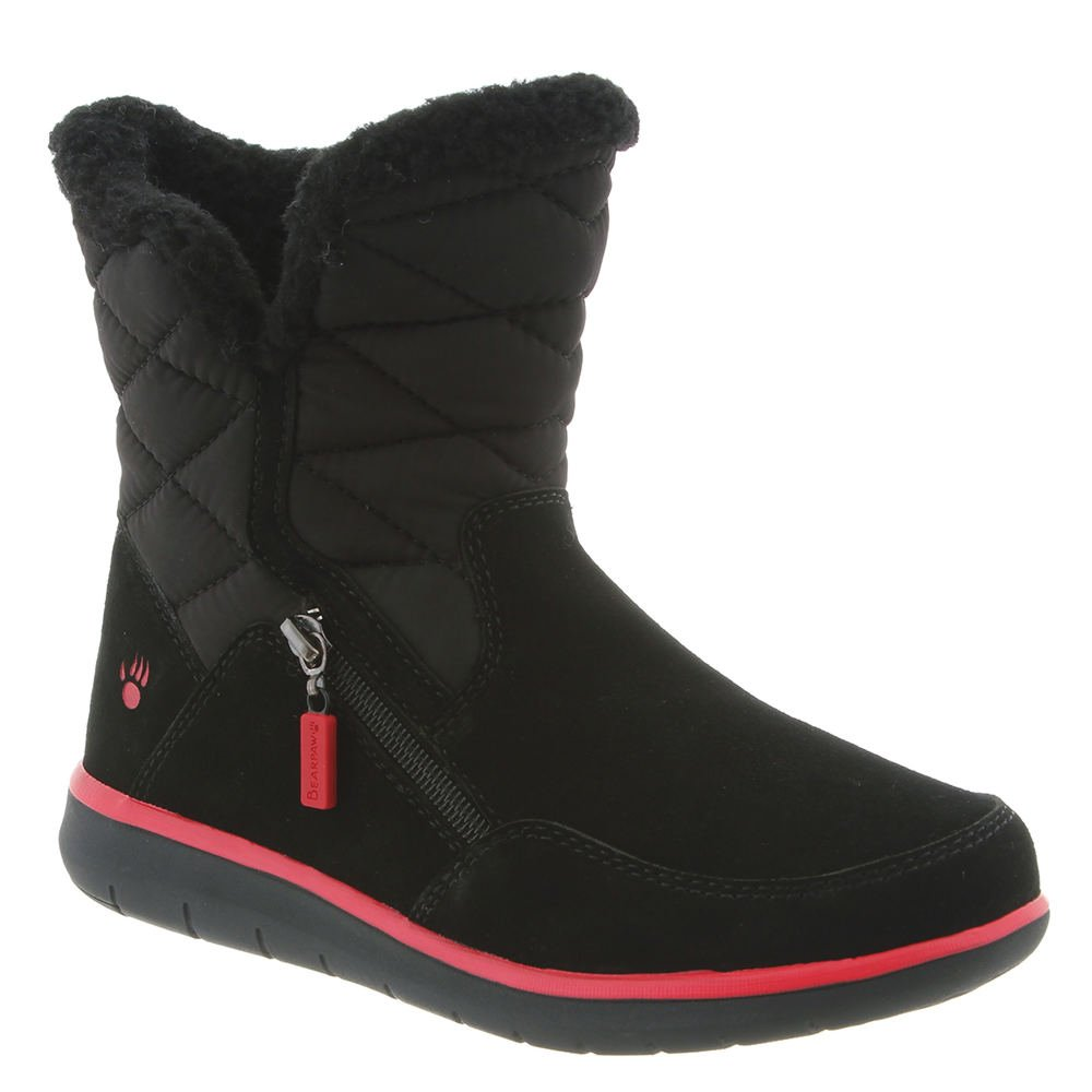 BEARPAW Women's Katy Snow Boot B075G1K7PX M7 M US|Black