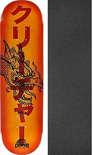 ジャンピングジャック抑圧する旋律的Creature Skateboards Sam Hitz Sketchyスケートボードデッキ – 8.37