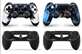 Gizmoz n Gadgetz GNG PS4 Console DV from Starwars Skin Decal Vinal Sticker + 2 Controller Skins Set