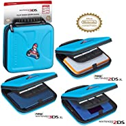 Officially Licensed Hard Protective 3DS Carrying Case - Compatiable with Nintendo 3DS, 3DS XL, 2DS, 2DS XL, Ne