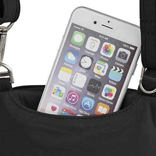 Travelon Anti-Theft Classic Light Mini Crossbody Bag, Black by Travelon (Image #4)