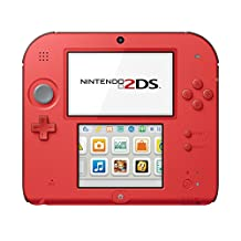 Nintendo 2DS-Crimson Red 2 with Mario Kart 7