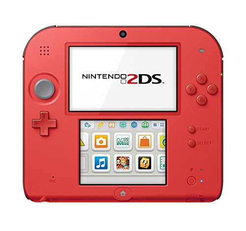 Price comparison product image Nintendo Nintendo 2DS-Crimson Red 2 w/Mario Kart 7 - Nintendo 2DS