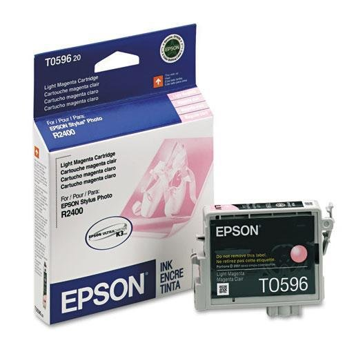 (EPSON America T059620 T059620 UltraChrome K3 Ink, 450 Page-Yield, Light Magenta)