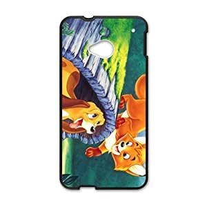 Lovely cat and dog Cell Phone Case for HTC One M7