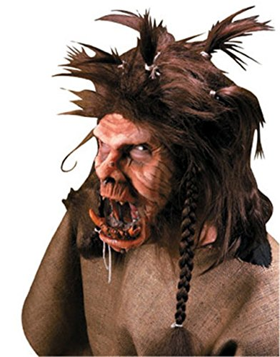 [Reel FX Monster Troll Theater Quality Makeup Mask] (Prosthetic Fx Makeup Halloween Masks)