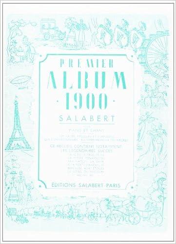 Livres gratuits Album de chants 1900 Vol.1 --- Chant/Piano pdf, epub ebook