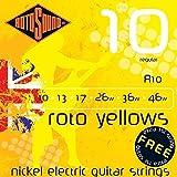 Rotosound R10 Roto Yellows Regular Electric Guitar Strings (10-46)