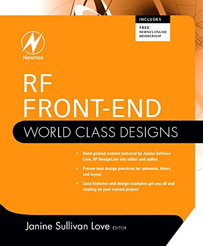Rf Integrated Circuit Design - RF Front-End: World Class Designs