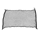 SuperWarehouse Car Black Nylon Luggage Cargo Net Holder Elastic Storage 120cm x 70cm, swh832818ca285018