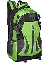 Generic Waterproof Hiking Backpack 35L (Green)