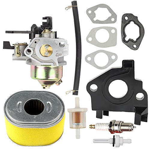 HIPA Carburetor Air Filter Spark Plug for Honda GX240 8HP GX270 9HP Engine 270cc Water Pump 16100-ZH9-W21 (Honda Gx240 Carburetor)