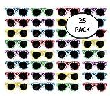 Toys : Bulk Kids Hibiscus Sunglasses Party Favors - Favorite Luau Party and Pool Party Favors- Bulk Party Set of 25