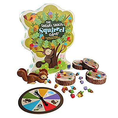 Educational Insights The Sneaky, Snacky Squirrel Toddler & Preschool Board Game: Toys & Games