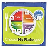 LRNLER2394 - Healthy Helpings My Plate Pocket Chart with 90 Food Cards