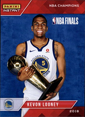 2018 Panini Golden State Warriors Championship Box Set #11 Kevon Looney 2017-18 Basketball Card