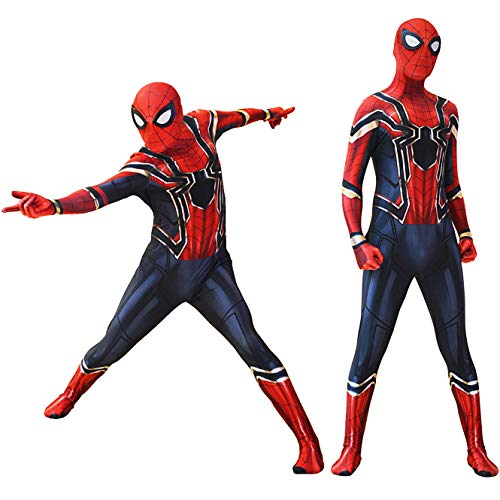 Iron Spider Costume Avengers Spiderman Infinity War Spider-Man Suit XXXL -