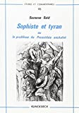 img - for Sophiste Et Tyran Ou Le Probleme de Promethee Enchaine (Etudes Et Commentaires) by Suzanne Said (1985-02-27) book / textbook / text book