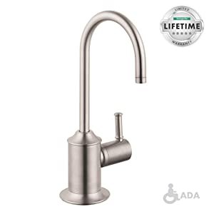 Hansgrohe 04302800 C Beverage Faucet, Steel Optik