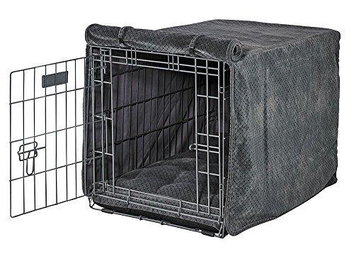 Bowsers Metalbax Microvelvet Crate Cover-Medium