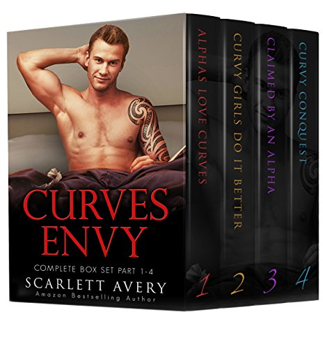 Curves Envy — Box Set (Part 1-4): Curvy Women Romance Alpha Male (BBW Romance And Alpha (Curve Box)