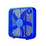 Mainstays 20'' Box Fan, Blue