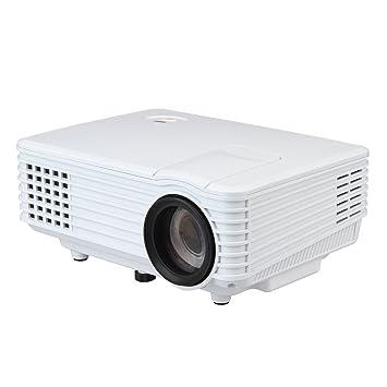 Excelvan Mini proyector de vídeo LED portátil Multimedia para cine ...