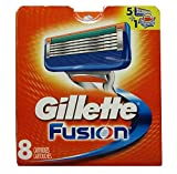 Gillette Fusion Razor Refill Cartridges -Made in USA - Free Gift...