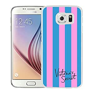 Beautiful Designed Victoria's Secret Love Pink Cover Case For Samsung Galaxy S6 in White Phone Case 38