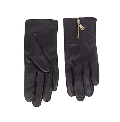 c6b8c4204df9 Guess - Gant - Femme Noir Noir moyenne  Amazon.fr  Vêtements et ...