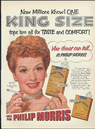 Image result for lucille ball philip morris cigarettes