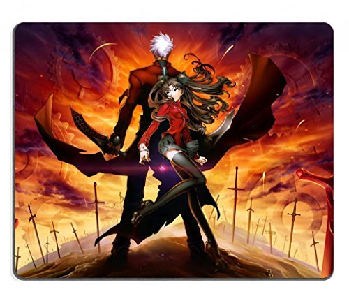 Fate Stay Night Zero 13 Tohsaka Rin & Archer Type-Moon Anime Game Gaming Mouse Pad