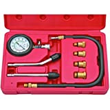 New Cylinder Compression Tester Test Kit Professional Mechanics Gas Engine