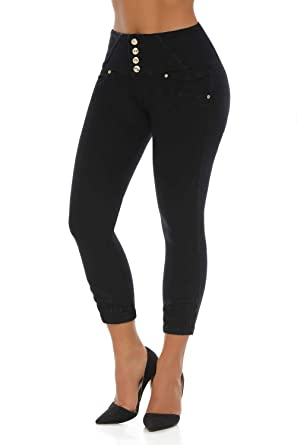 f755002db1 Image Unavailable. Image not available for. Color  VEROX JEANS Pantalones  Colombianos Levanta Cola Colombian Jeans Levantacola 3201
