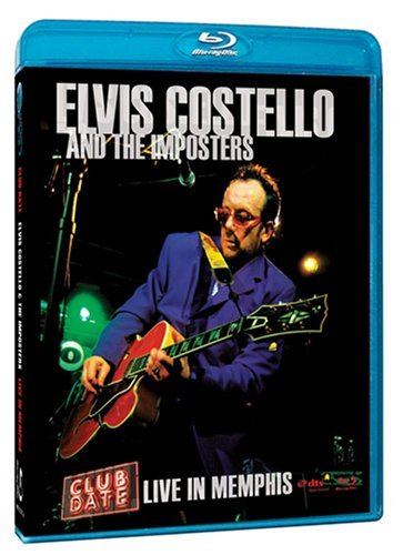 Elvis Costello & the Imposters: Club Date - Live in Memphis [Blu-ray] (Date A Live Blu Ray)